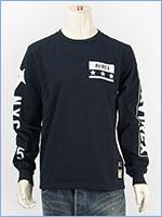 アビレックス 長袖 Tシャツ 袖ロゴ & N.Y.C. AVIREX L/S SLEEVE LOGO & N.Y.C. T-SHIRT 6183502-87