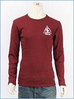 AVIREX アビレックス 長袖 Tシャツ クルーネック リブ L/S RIB CREW NECK TEE X-15 6183519-39
