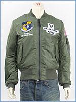 アビレックス スペースコマンド MA-1 ジャケット AVIREX MA-1 SPACE COMMAND 6182184-73