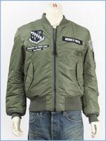 アビレックス X-15 MA-1 ジャケット AVIREX MA-1 X-15 6182234-73