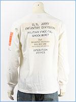 アビレックス 長袖 Tシャツ シーチング パッチ AVIREX LS SHEETING PATCHED T-SHIRT 6193468-01
