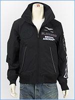 アビレックス ブラックバード スタンドジップ ジャケット AVIREX BLACKBIRD STAND ZIP JACKET 6102133-09