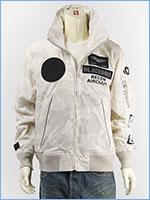 アビレックス ブラックバード スタンドジップ ジャケット AVIREX BLACKBIRD STAND ZIP JACKET 6102133-801