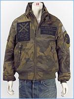 アビレックス MA-1 モディファイ ハロ ジャケット AVIREX MILITARY CAMP MA-1 MOD HALO 6192176-98