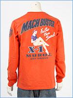 アビレックス 長袖 Tシャツ マッハバスター AVIREX LS MACH BUSTER T-SHIRT 6103522-44