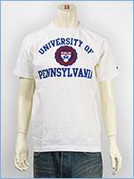 チャンピオン メイドインUSA T1011 半袖 プリントTシャツ ペンシルベニア大学 Champion MADE IN USA T1011 US T-SHIRT UNIVERSITY OF PENNSYLVANIA C5-H302-010