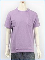 チャンピオン メイドインUSA T1011 半袖 ポケットTシャツ 製品染め Champion MADE IN USA T1011 US POCKET T-SHIRT C5-H304-280