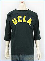 チャンピオン メイドインUSA T1011 7分袖 UCLA プリント フットボールTシャツ Champion MADE IN USA T1011 3/4 SLEEVE FOOTBALL T-SHIRT UCLA C5-J404-370