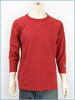 チャンピオン メイドインUSA T1011 ラグラン 7分袖 Tシャツ Champion MADE IN USA T1011 RAGLAN 3/4 SLEEVE T-SHIRT C5-U401-950