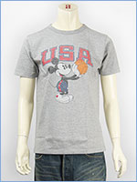Champion x Disney チャンピオン ミッキーマウス 半袖 プリントTシャツ Champion ROCHESTER T-SHIRT MICKEY MOUSE C9-H306-070