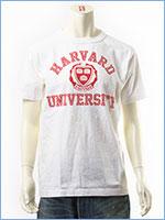 チャンピオン メイドインUSA T1011 半袖 プリント Tシャツ ハーバード大学 Champion MADE IN USA T1011 US T-SHIRT HARVARD UNIVERSITY C5-K302-019