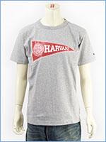 チャンピオン メイドインUSA T1011 半袖 プリント Tシャツ ハーバード大学 Champion MADE IN USA T1011 US T-SHIRT HARVARD UNIVERSITY C5-K302-070