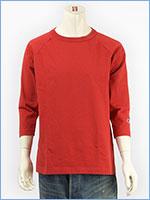 チャンピオン メイドインUSA T1011 ラグラン 7分袖 Tシャツ Champion MADE IN USA T1011 RAGLAN 3/4 SLEEVE T-SHIRT C5-U401-970