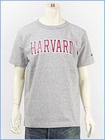 チャンピオン メイドインUSA T1011 半袖 プリント Tシャツ ハーバード大学 Champion MADE IN USA T1011 US T-SHIRT HARVARD UNIVERSITY C5-M302-070