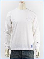 チャンピオン 長袖 Tシャツ ビッグロゴ 刺繍 アクションスタイル Champion ACTION STYLE LONG SLEEVE T-SHIRT C3-L422-010