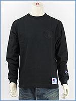 チャンピオン 長袖 Tシャツ ビッグロゴ 刺繍 アクションスタイル Champion ACTION STYLE LONG SLEEVE T-SHIRT C3-L422-090