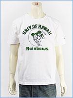 チャンピオン メイドインUSA T1011 半袖 プリント Tシャツ ハワイ大学 CHAMPION MADE IN USA T1011 US T-SHIRT UNIVERSITY OF HAWAII C5-P303-010