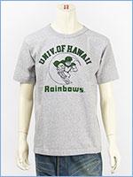 チャンピオン メイドインUSA T1011 半袖 プリント Tシャツ ハワイ大学 CHAMPION MADE IN USA T1011 US T-SHIRT UNIVERSITY OF HAWAII C5-P303-070