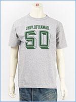 チャンピオン メイドインUSA T1011 半袖 プリント Tシャツ ハワイ大学 CHAMPION MADE IN USA T1011 US T-SHIRT UNIVERSITY OF HAWAII C5-P303-077