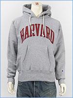 Champion チャンピオン メイドインUSA リバースウィーブ プルオーバー スウェットパーカー ハーバード大学 Champion MADE IN USA REVERSE WEAVE PULLOVER HOODED SWEAT SHIRT C5-Q104-070