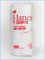 ヘインズ 半袖 ジャパンフィット クルーネック Tシャツ 2枚組 無地 Hanes Underwear Japan Fit Crew Neck T-SHIRT H5110-010