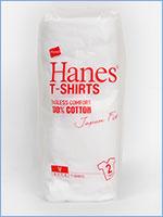 ヘインズ 半袖 ジャパンフィット Vネック Tシャツ 2枚組 無地 Hanes Underwear Japan Fit V Neck T-SHIRT H5115-010