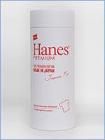 ヘインズ プレミアム 半袖 ジャパンフィット ポケットTシャツ 無地 ホワイト Hanes PREMIUM Japan Fit T-SHIRT with Pocket HM1-F004-010 Made in Japan
