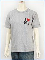 Champion MADE IN USA チャンピオン T-1011 US 半袖プリントTシャツ I LOVE NY / Champion MADE IN USA T-1011 US PRINT T-SHIRT C5-B318-072