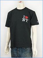 Champion MADE IN USA チャンピオン T-1011 US 半袖プリントTシャツ I LOVE NY / Champion MADE IN USA T-1011 US PRINT T-SHIRT C5-B318-098