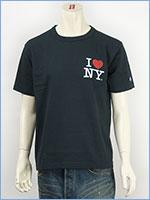 Champion MADE IN USA チャンピオン T-1011 US 半袖プリントTシャツ I LOVE NY / Champion MADE IN USA T-1011 US PRINT T-SHIRT C5-B318-371