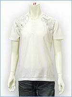空 半袖 ヘンリーネック Tシャツ タトゥー KU USA S/S HENLEY NECK TEE SHIRT 517355-02