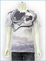空 半袖 プリント Tシャツ 雲龍 KU USA S/S PRINT TEE SHIRT 517361-01