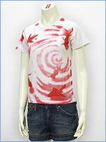 プリント レディース Tシャツ 金魚 KU USA S/S PRINT LADIES TEE SHIRT 527316-01w