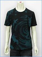 空 半袖 プリント Tシャツ 金魚 KU USA S/S PRINT TEE SHIRT 527316-09