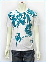 空 半袖 プリント Tシャツ 鳥 KU USA S/S PRINT TEE SHIRT 527317-01