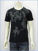 空 半袖 プリント Tシャツ 鳥 KU USA S/S PRINT TEE SHIRT 527317-09