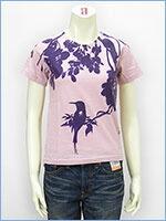 プリント レディース Tシャツ 鳥 KU USA S/S PRINT LADIES TEE SHIRT 527317-24w