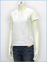 空 半袖 プリント レディース Tシャツ 鯉 KU USA S/S PRINT LADIES TEE SHIRT 527334-81