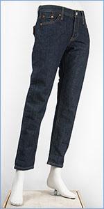 リーバイス レディース Levi's 501CT ボタンフライ オリジナル カスタマイズド&テーパード 10.5oz.デニム インクブロット(ダークインディゴ フラットフィニッシュ) Levi's 501 Jeans for Women 17804-0032 ジーンズ