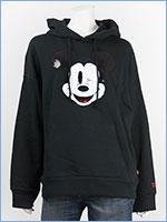 リーバイス ミッキーマウス レディース オーバーサイズ プルオーバー パーカー Levi's x Disney COLLECTION MICKEY MOUSE WOMEN'S GRAPHIC OVERSIZED HOODIE 57597-0002