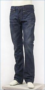 リーバイス・モダンプレミアム レギュラーフィット・ストレートレッグ / 11.8oz.デニム / ディープミッドブルー ( Levi's Red Tab Modern Premium 00504-0205 )