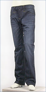 リーバイス・モダンプレミアム レギュラーフィット・ストレートレッグ / 9oz.ストレッチデニム / ブロークングラス ( Levi's Red Tab Modern Premium 00504-0227 )