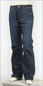 【超限定版・米国製】リーバイス 501 ボタンフライ レギュラーストレート コーンミルズ セルビッジデニム サハラ(ダーク) Levi's LIMITED MODEL MADE IN THE USA 00501-1028