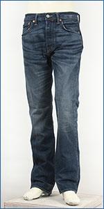 リーバイス Levi's 501(2013モデル) ボタンフライ オリジナル コーンミルズ 12.5oz.デニム エイジドヴィンテージ Levi's 501 JEANS 00501-1486