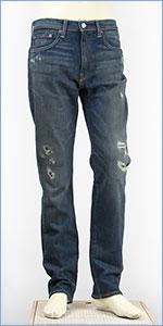 リーバイス 522フィット スリムテーパード 12.3oz.ストレッチデニム コバーンズカット Levi's Classic 16882-0102