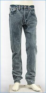 リーバイス Levi's 501CT ボタンフライ オリジナル カスタマイズド&テーパード コーンミルズ 12.5oz.デニム レノクリーク(ミッドブルー) Levi's 501 JEANS 18173-0001