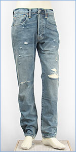 リーバイス Levi's 501CT ボタンフライ オリジナル カスタマイズド&テーパード 14oz.デニム ダーティーダウン(クラッシュユーズド) Levi's 501 JEANS 18173-0043