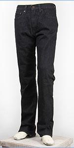リーバイス 505 フィット レギュラーストレート サーモライト ストレッチデニム ブラック Levi's Warm Jeans 00505-1427