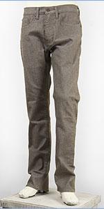 リーバイス 505 フィット レギュラーストレート サーモライト ストレッチデニム ブラウングレー Levi's Warm Jeans 00505-1429