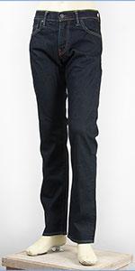 リーバイス 511 フィット スリム セルビッジ ストレッチデニム リンス Levi's Jeans 04511-2046